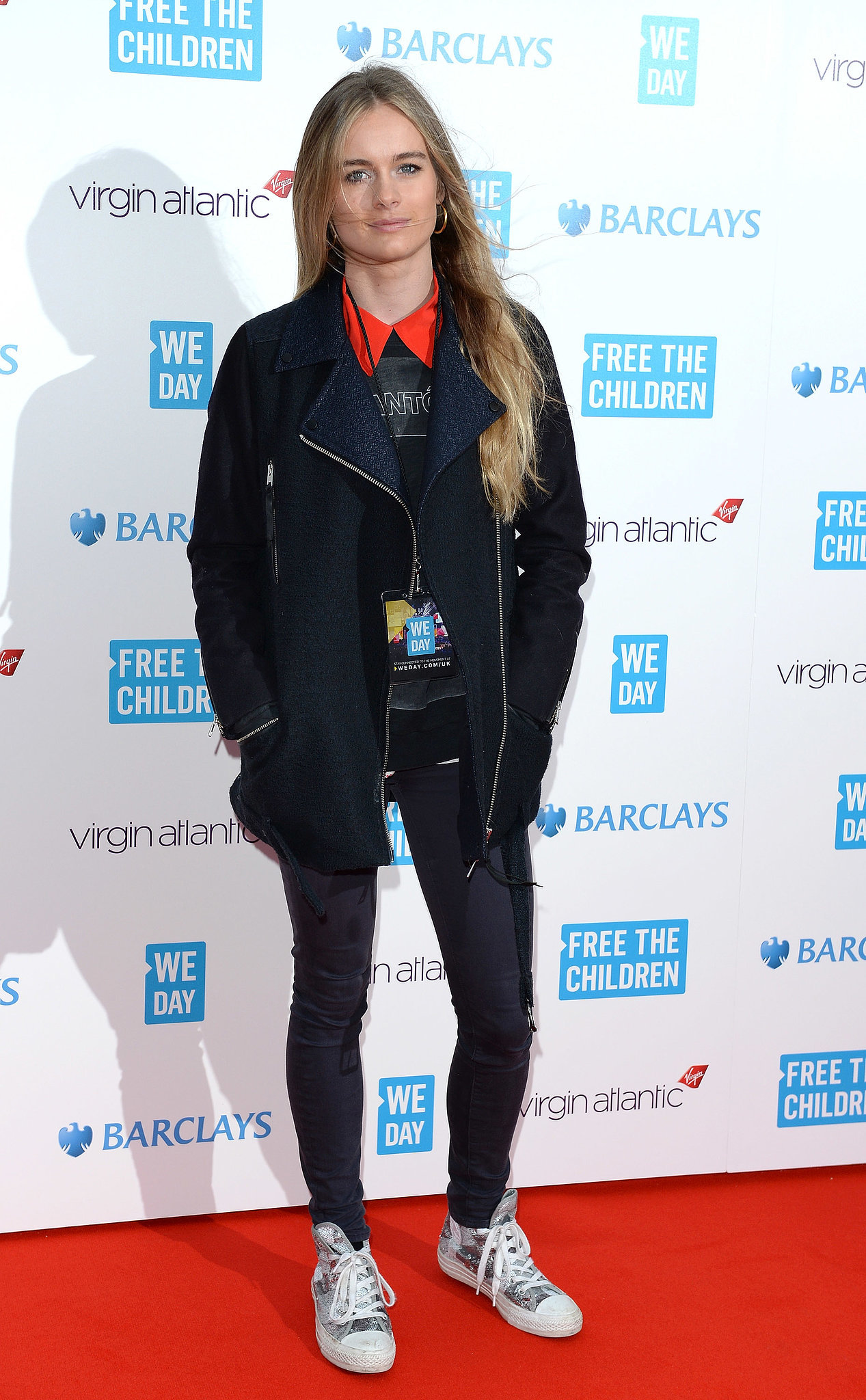 Cressida Bonas at the We Day UK Event