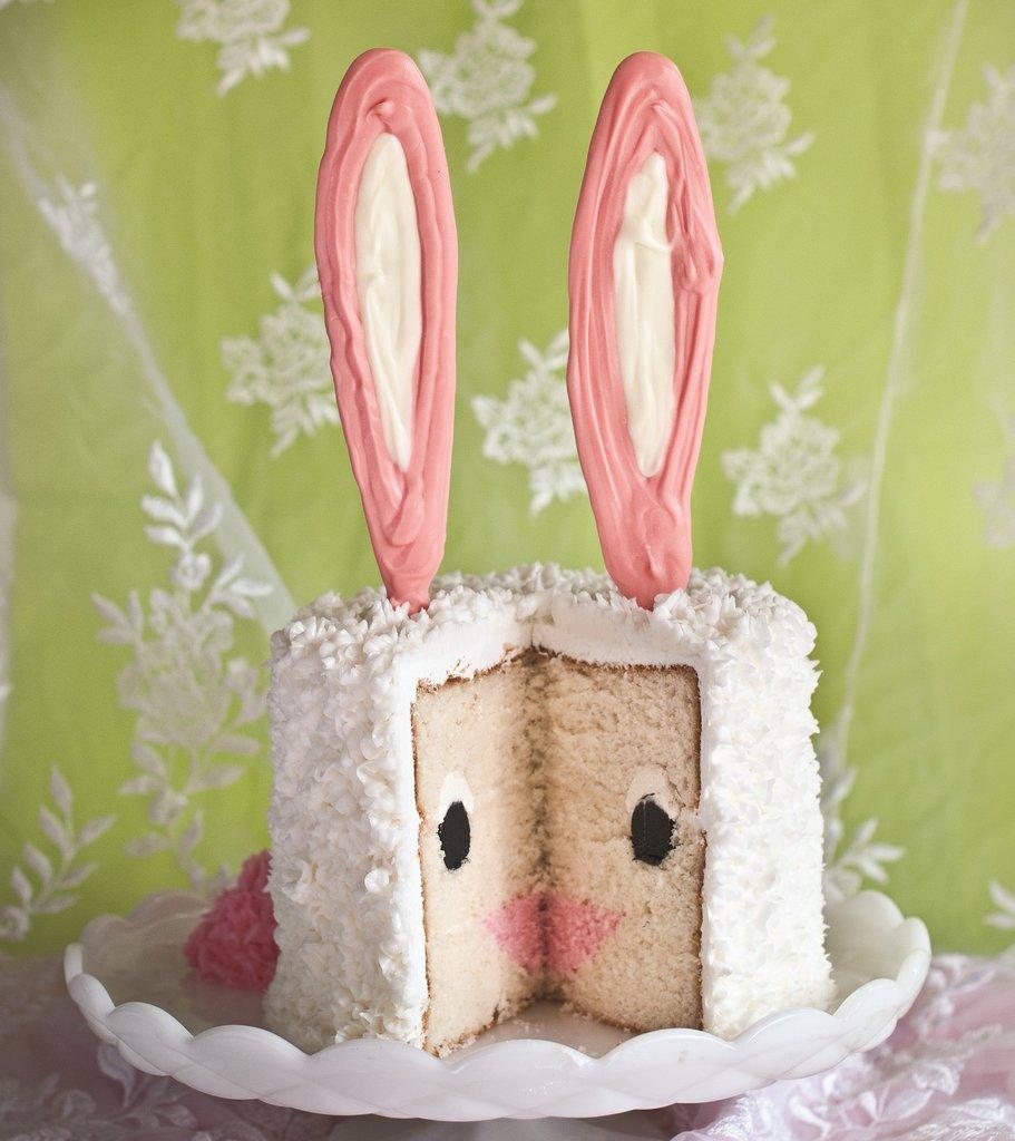 Everyday Art Bunny Birthday Cake Brainstorm