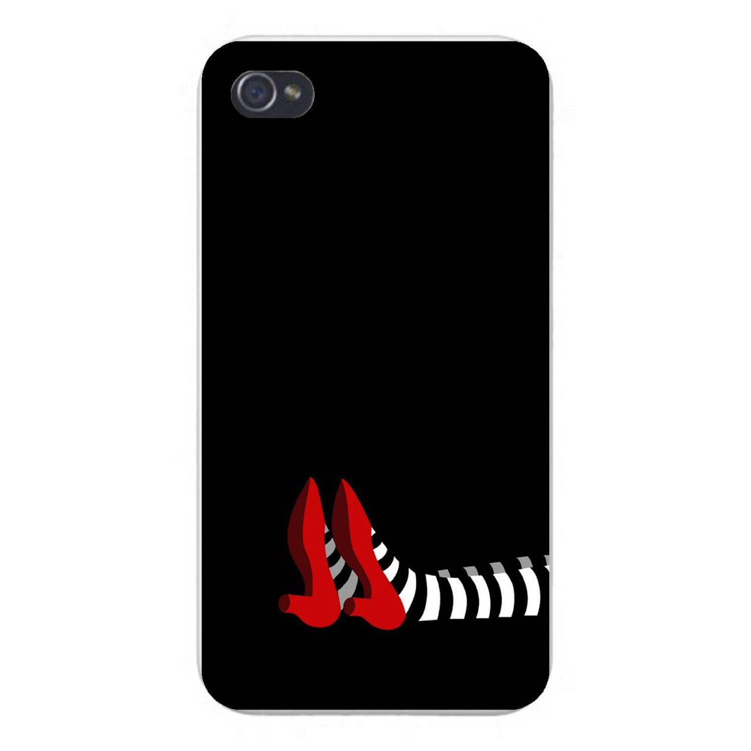 Wicked Witch Socks and Ruby Red Shoes Case ($14) for iPhone 5