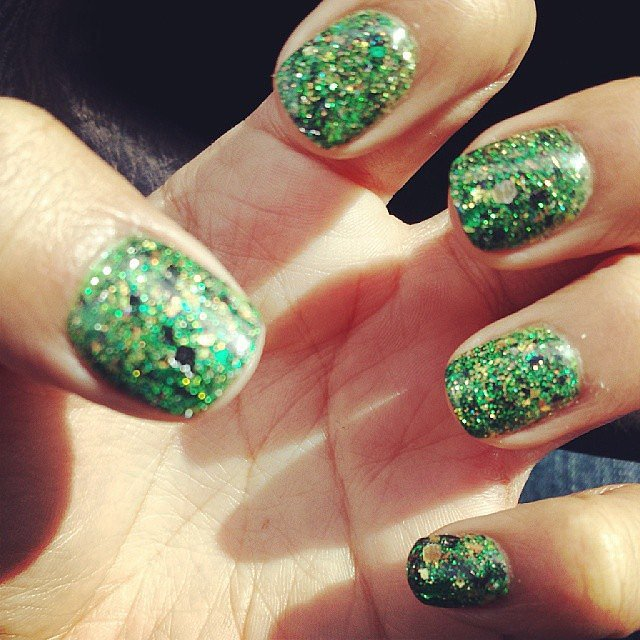 Green Glitter Goddess