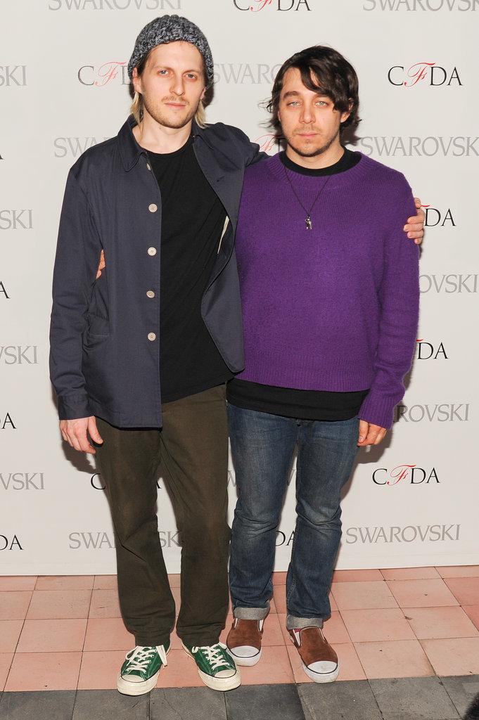 Chris Peters and Shane Gabier