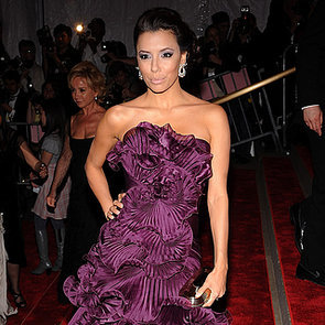 Eva Longoria Bright Dresses