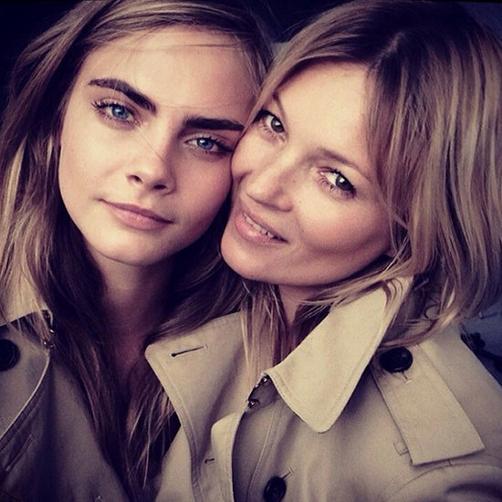Supermodel Friends Cara Delevingne And Kate Moss