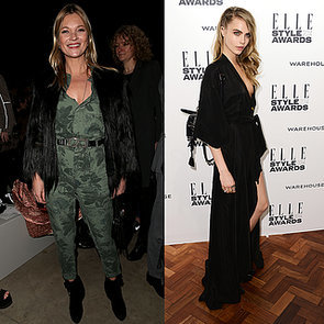 Cara Delevingne and Kate Moss Team Up For Burberry Campaign