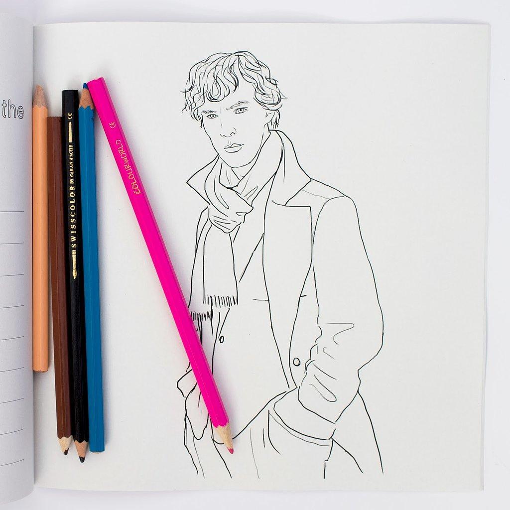 That Sherlock smolder — ooh baby!  Source: I Love Mel
