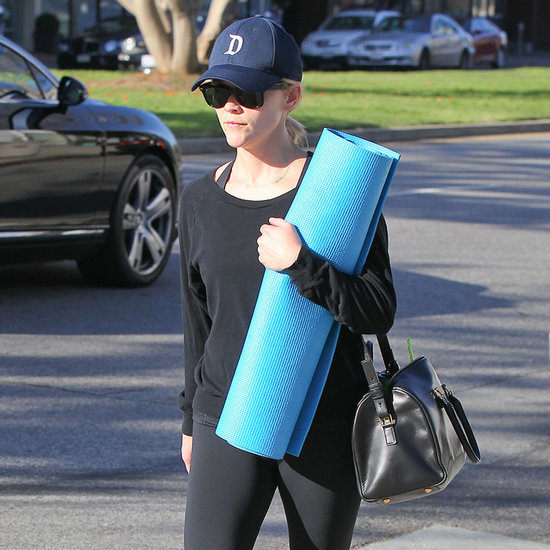 Pictures of Celebrities Exercising