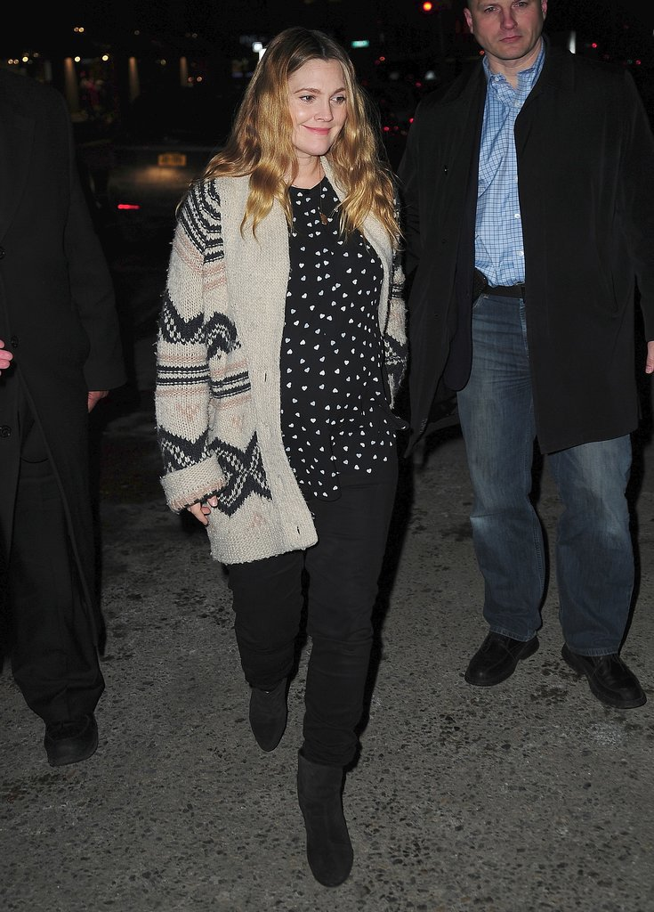 Drew Barrymore in the New York City