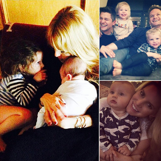 Kaius, Brooks, Blue, and More: Celeb Parents' Best Photos of the Week