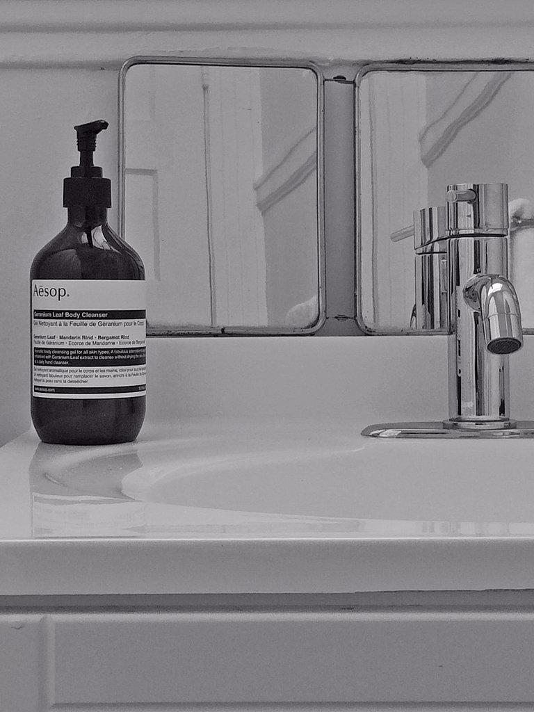 Bathroom Scent: Aesop Geranium Soap