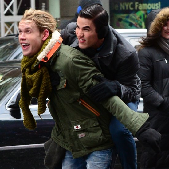 Chord Overstreet Arrested in NYC Filming Glee