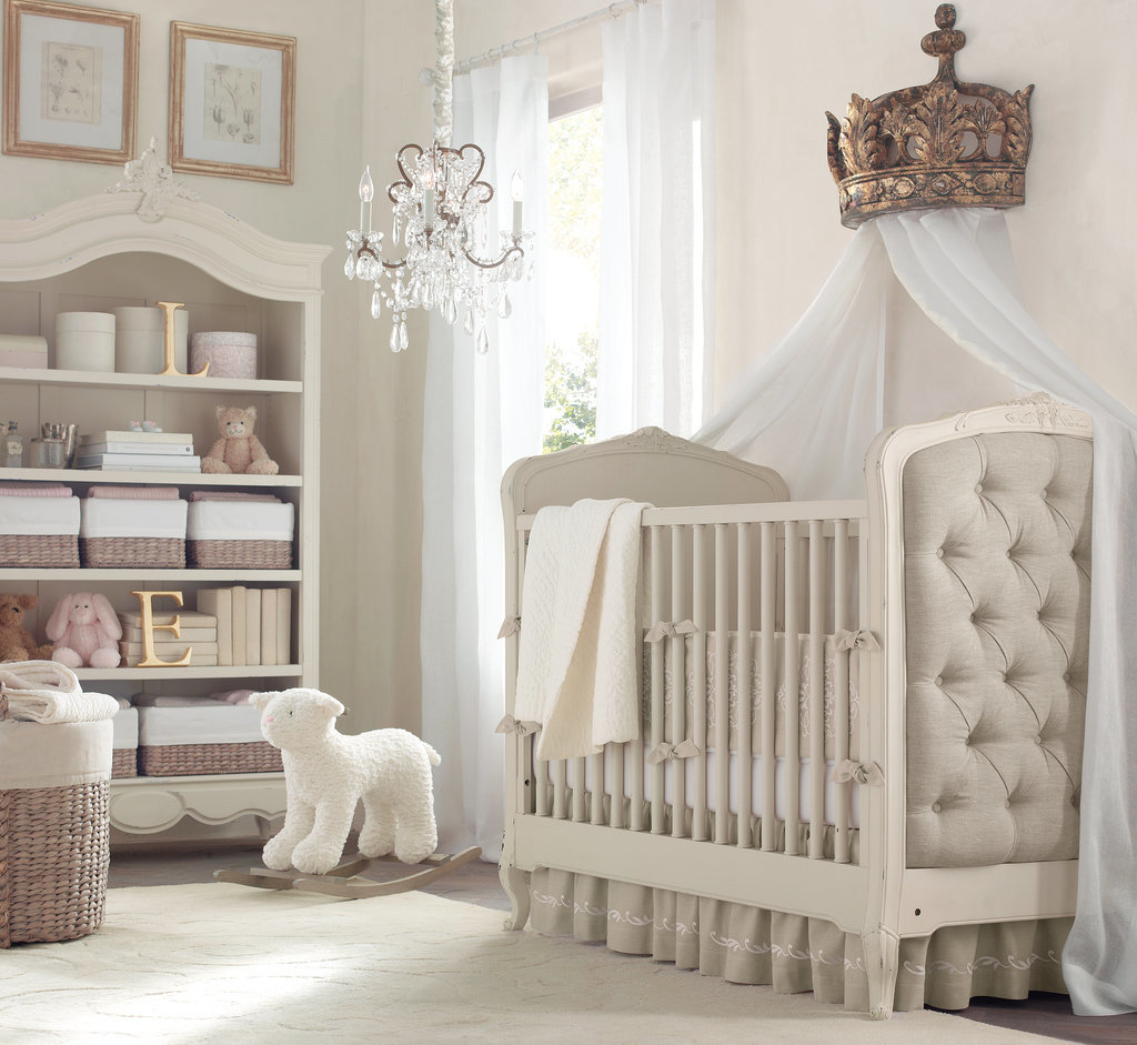 A Posh, Neutral Nursery