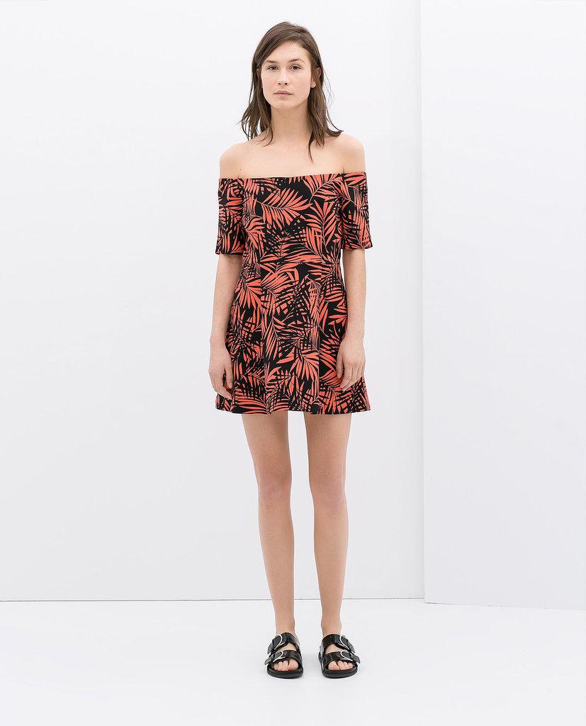 Printed Off-the-Shoulder Dress ($139)