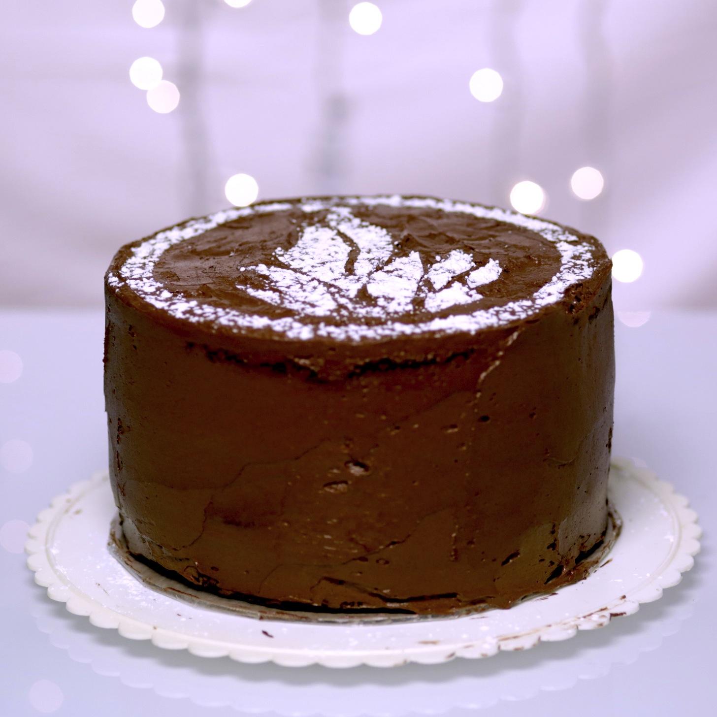 Divergent Dauntless Chocolate Cake