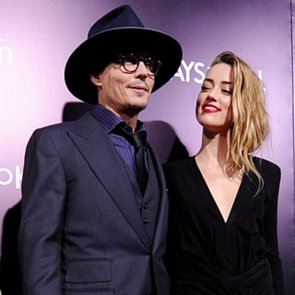 Johnny Depp and Amber Heard Throw an Engagement Party
