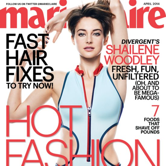 Shailene Woodley Interview in Marie Claire | April 2014