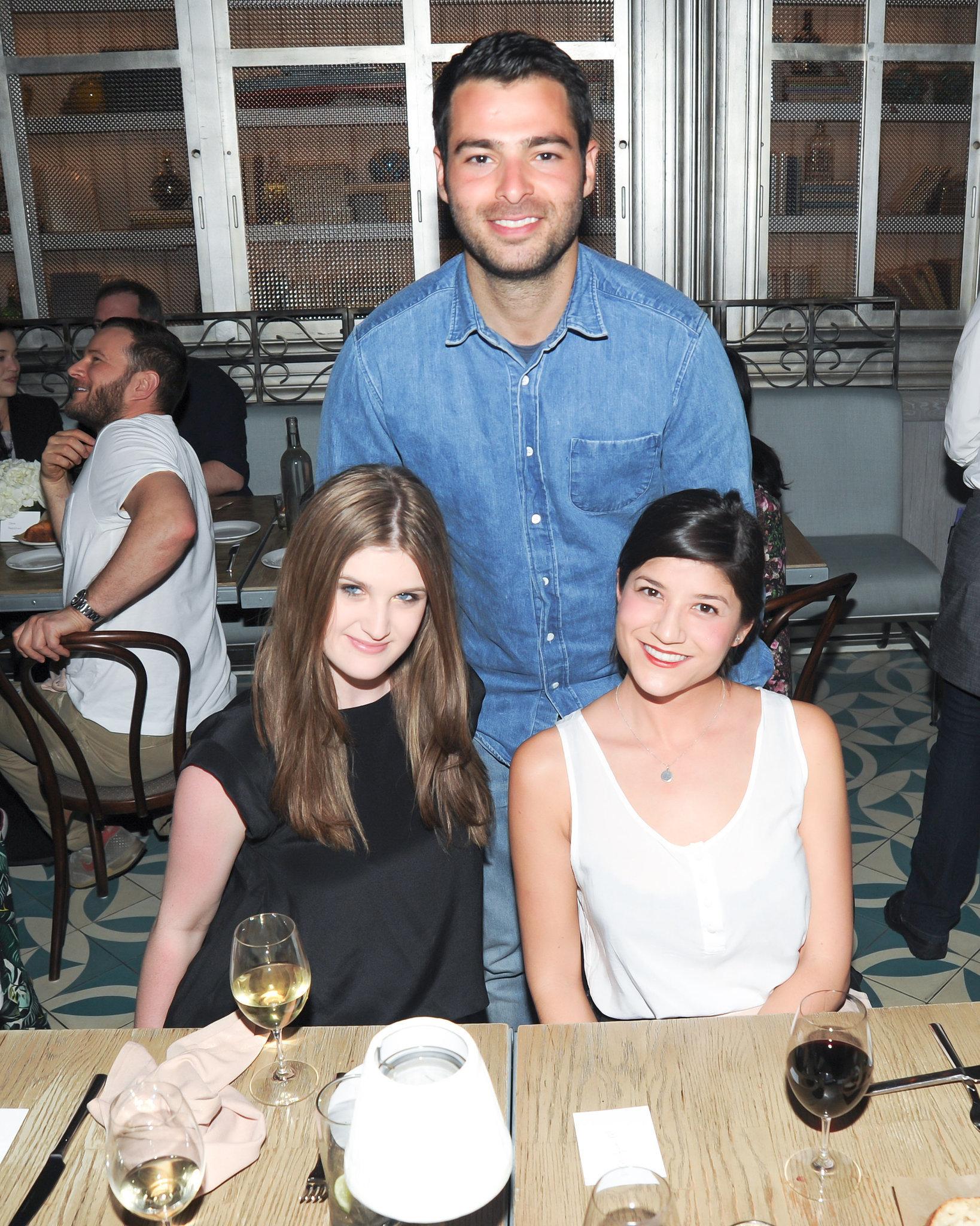 Chloe Post, Jonathan Simkhai, and Kristine Mittendorf