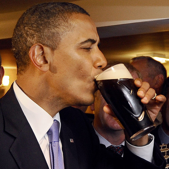 Politicians Drinking Beer