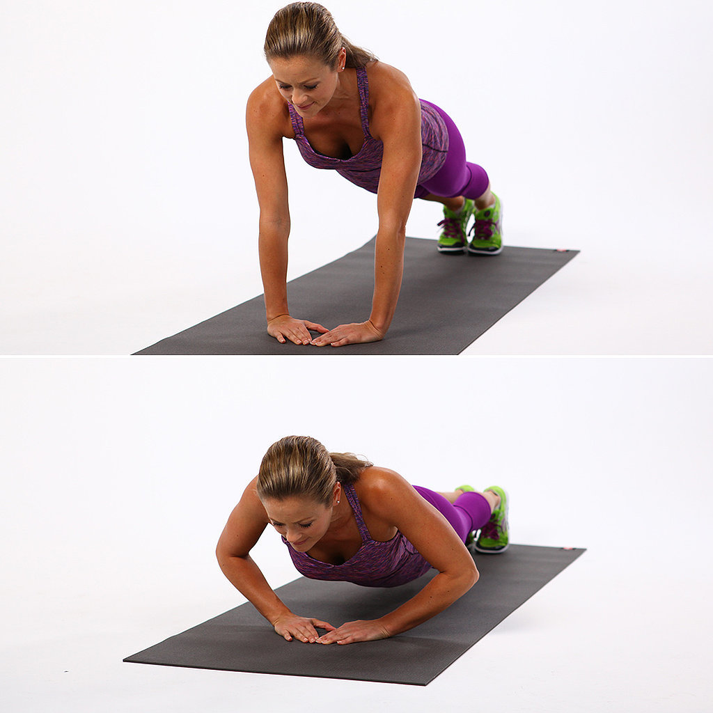 Upper Body: Diamond Push-Ups