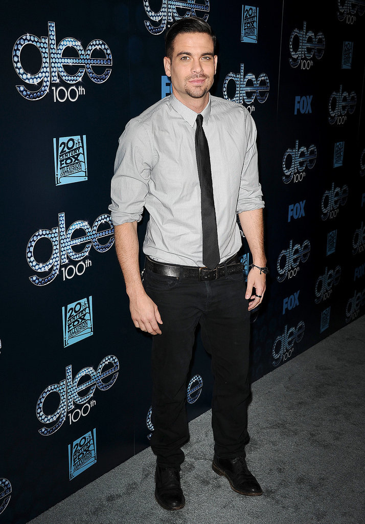 Mark Salling ditched his jacket.