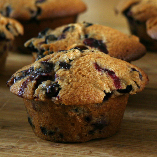 Blythe Danner's Blueberry Muffins