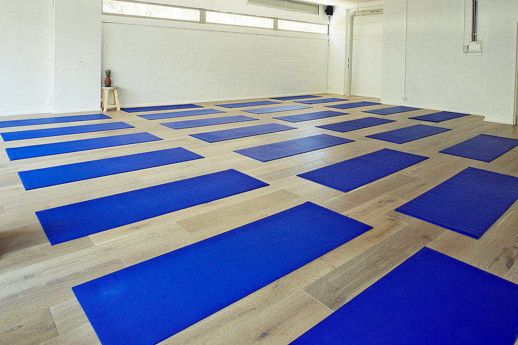 The mat-based workout pretty much defies categorisation. It's your typical fluid Vinyasa flow fused together with hip hop music where you hold certain postures to the beat. It's definitely not easier by any means, and while it's actually recommended for advanced yogis all levels are welcome and will be supported accordingly.