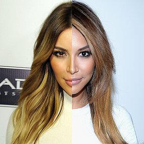 Naya Rivera Looks Like Kim Kardashian