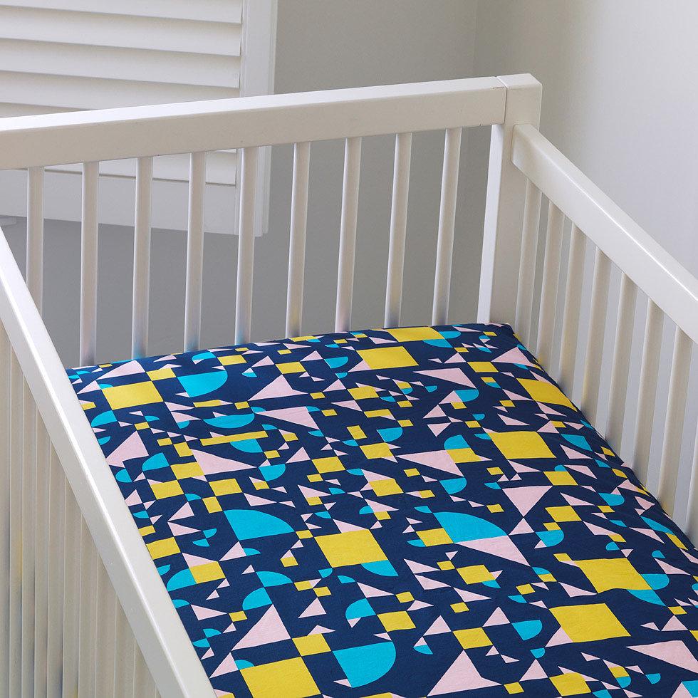 Unison Shapes Crib Sheets