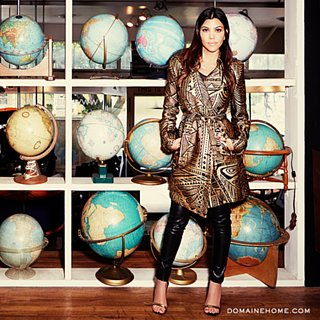 Kourtney Kardashian's Vintage Shopping Tips