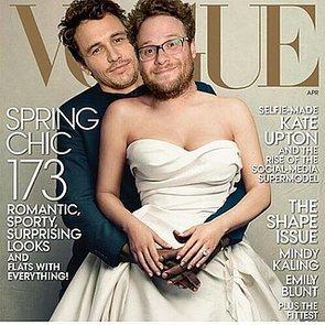 James Franco and Seth Rogen on Vogue