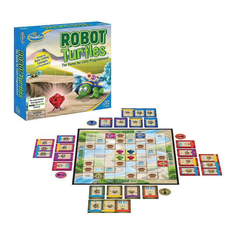Preschoolers: Robot Turtles
