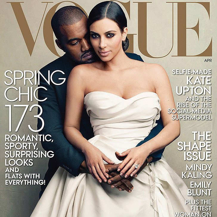 Twitter Responses to Kim and Kanye Vogue Cover