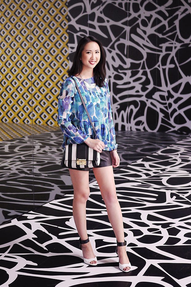 Congrats, Closet Luxe! Your outfit is print perfect!