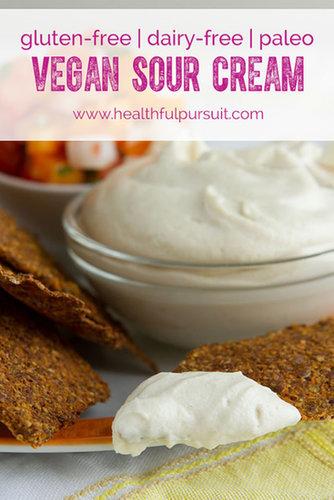 How to make (mind-blowing) Vegan Sour Cream #vegan #paleo #glutenfree