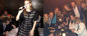 Party Time! Tom Hiddleston Is Serious About Karaoke at Jessica Chastain's B'Day