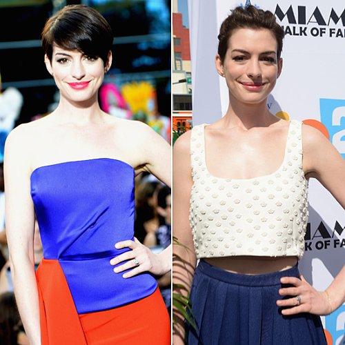 Anne Hathaway Pixie Haircut Styles