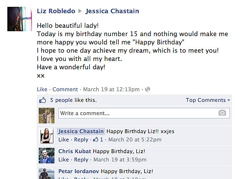 And She Sends Sweet Birthday Messages to Her Fans
