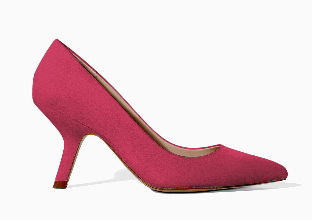 Zara inverted midheel pumps ($60)