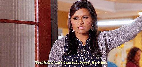 """And when she absolutely nails the clarification of what """"best friend"""" means"""