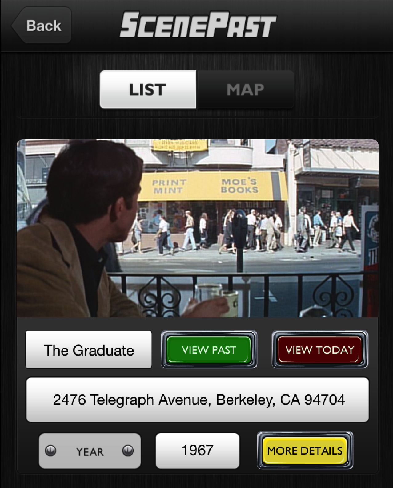 The Graduate, Then