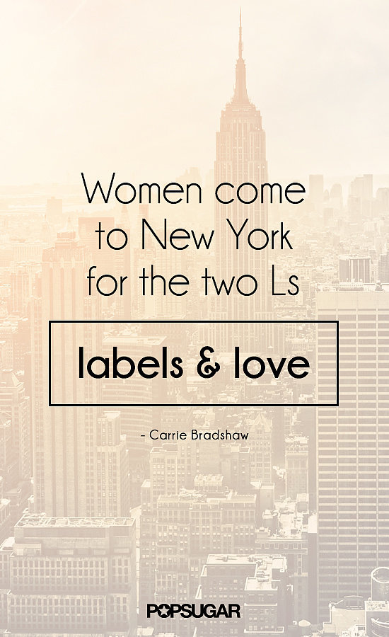 fashion shopping style carrie bradshaw 39 s beste zitate. Black Bedroom Furniture Sets. Home Design Ideas