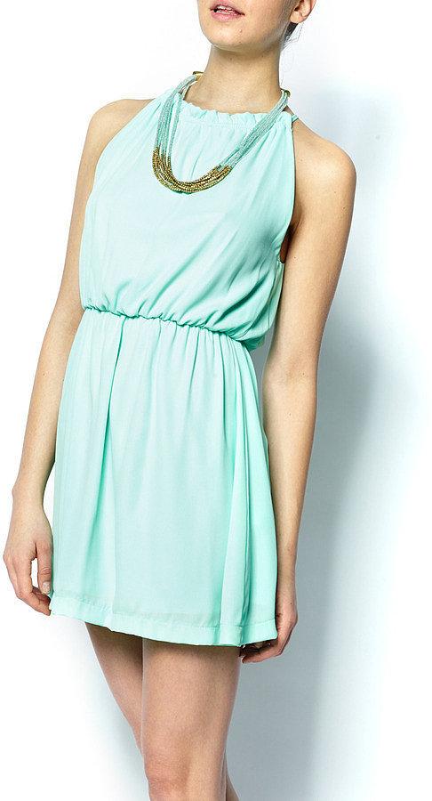 Bella Ro Minted Halter Dress ($44)