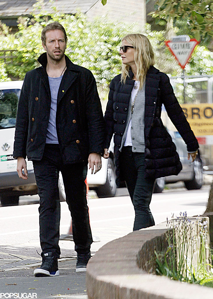 When they strolled around London like a normal couple in 2013.