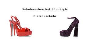 Schuhwochen: Plateauabsätze