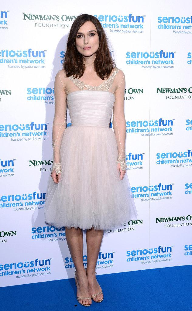 Keira Knightley at the 2013 SeriousFun Gala
