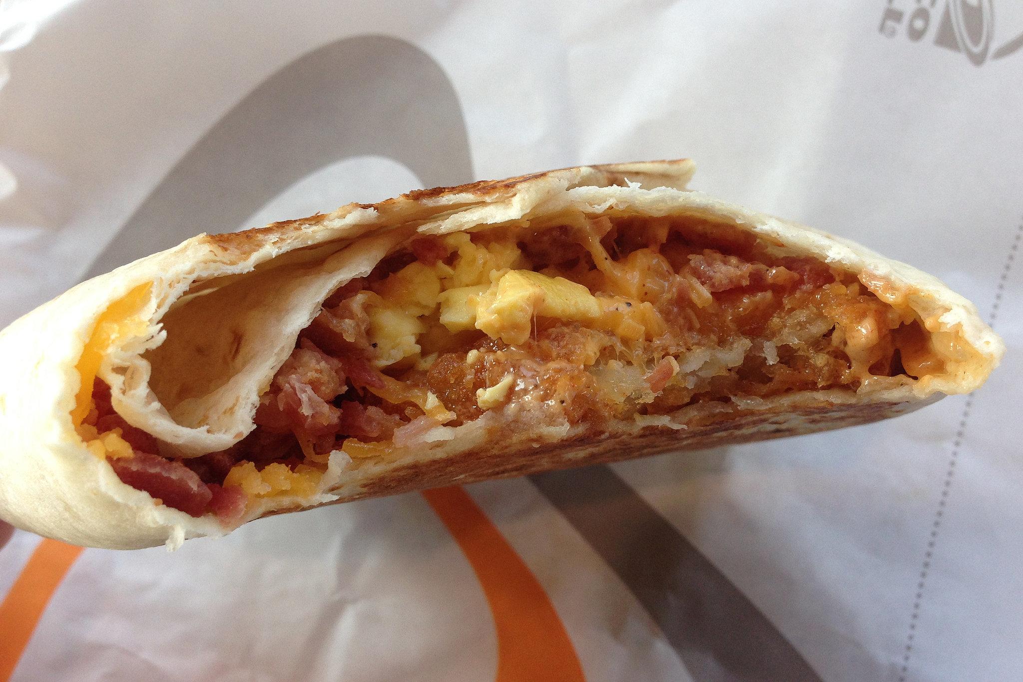 Bacon AM Crunchwrap