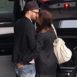 Jessica Biel and Justin Timberlake at the Airport
