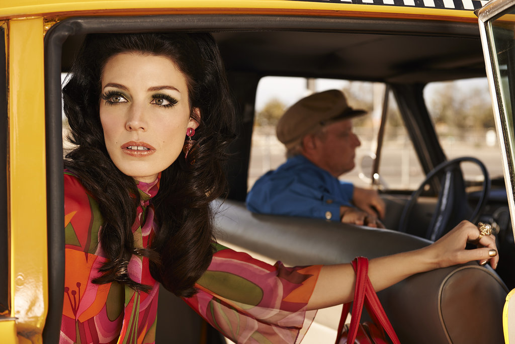 Jessica Paré plays Megan Draper.
