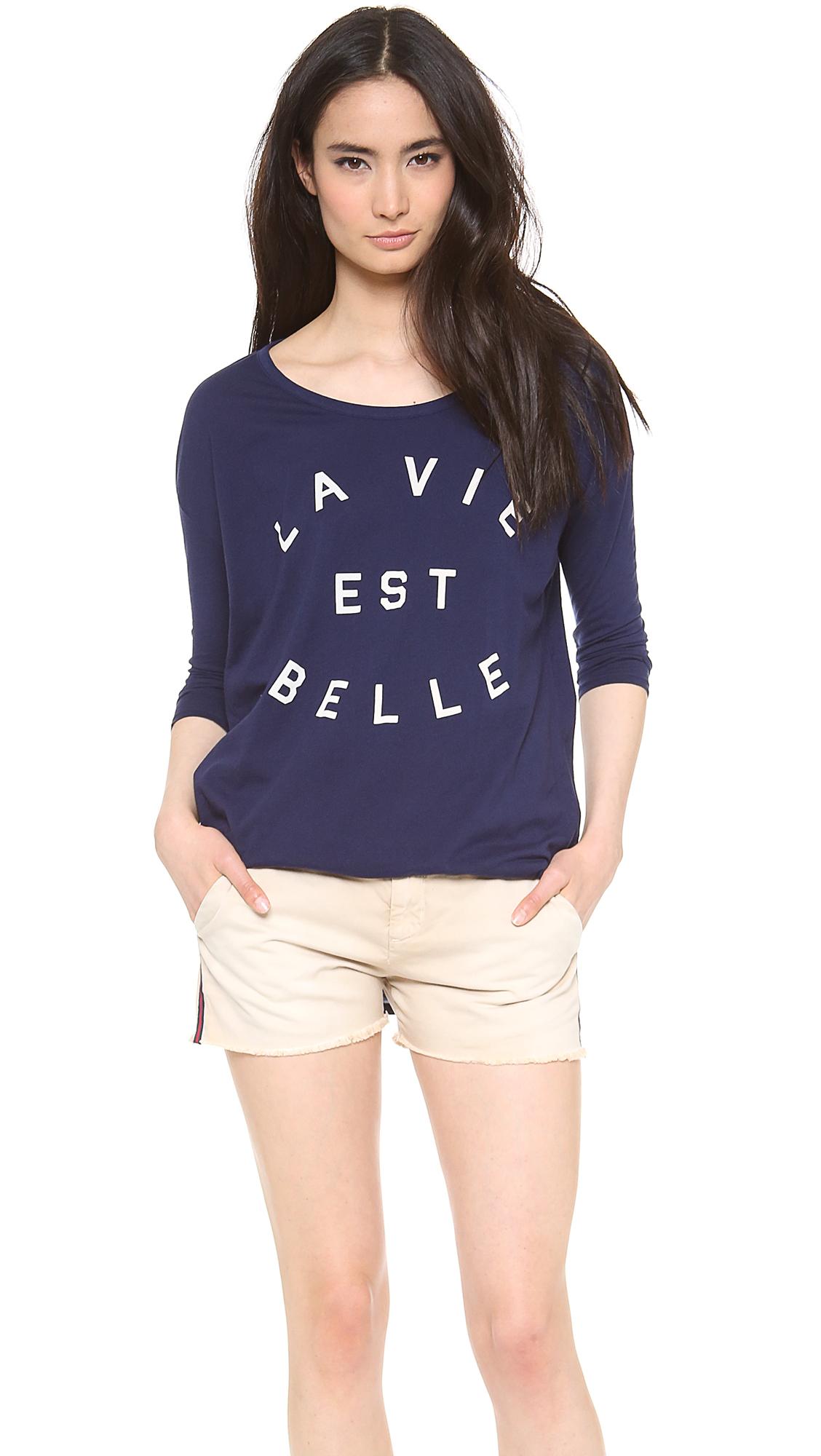 Sundry La Vie Est Belle Tunic ($83)