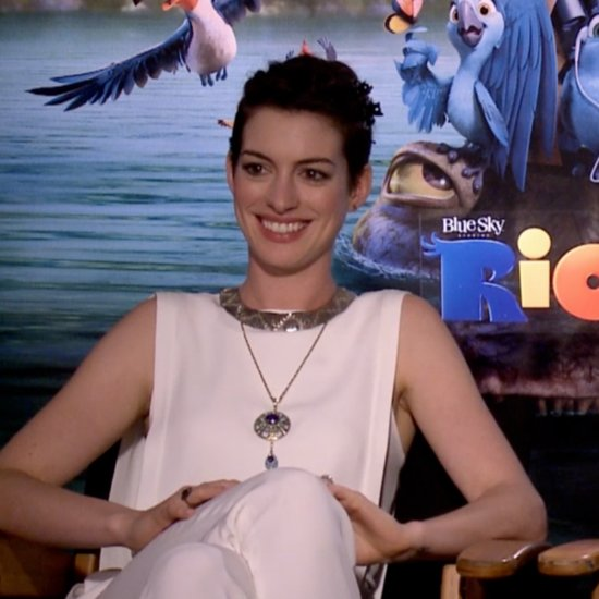 Anne Hathaway and Andy Garcia Interview For Rio 2 | Video