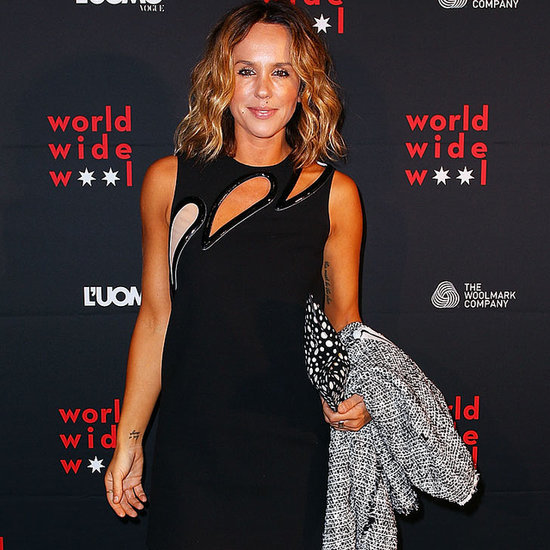 Celebrities at World Wide Wool and Luomo Vogue  in Sydney